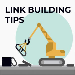 Link building tips for a new website